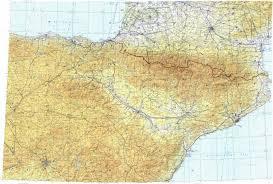 Zaragoza Spain Map by Download Topographic Map In Area Of Madrid Barcelona Zaragoza