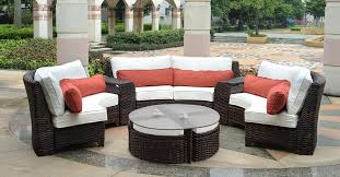 fancy wicker resin patio furniture with pertaining to stylish