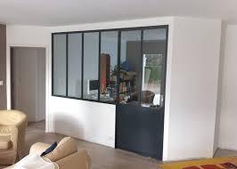 cloison verre bureau cloisons vitrées dans le bureau et les salles de bains