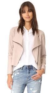 cheap moto jacket cupcakes and cashmere collin soft drape front moto jacket shopbop