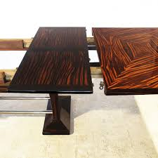pure art deco coffee table sculptural side table 30u0027s full art deco dining table with extension leaves 1930s 10 price per piece