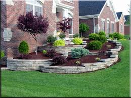 Front House Landscaping by Front Yard Landscaping Ideas With Roses Minimalist Simple Design