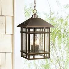 craftsman outdoor pendant light arts and crafts mission style outdoor lighting ls plus