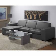 Leather Chaise Sofa Sectionals Chaises Costco