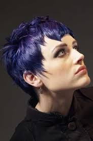 history on asymmetrical short haircut hair fashion short purple unusual hairstyles com bold pixie