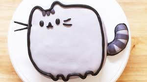 pusheen cat cake nerdy nummies youtube
