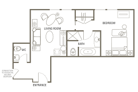 2 Bedroom Floor Plans by Executive 2 Bedroom Family Suite Washington D C