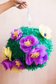 floral tissue paper diy tissue paper flower piñata