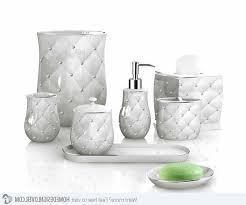 Nicole Miller Bathroom Accessories by Rhinestone Bathroom Accessories Antique Brass Glass Shelf Bath S