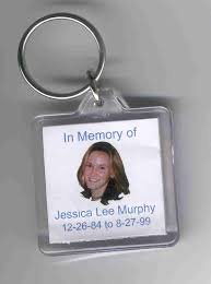 in memory of keychains keychains