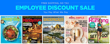 Barnes And Noble Employee Discount Employee Discount Magazine Sale Last Day For 15 95 American