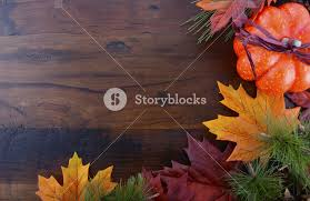 autumn fall background for thanksgiving or with leaves