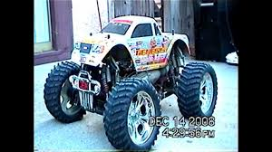 rc monster truck nitro nitro rc cen genesis 46 youtube