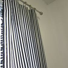 Blue Striped Curtains Coffee Tables Pinterest Curtain And Drapes Best Drapes For