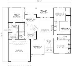 baby nursery 1800 sq ft house plans one story ranch style house