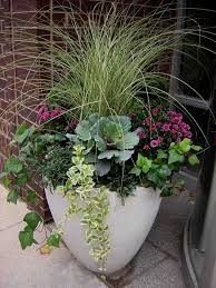 fabulous fall flower containers flower containers website and
