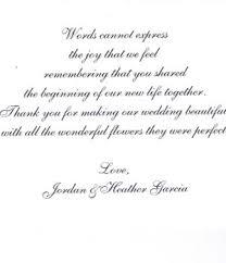 wedding blessing words testimonials