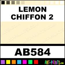 lemon chiffon 2 artist acrylic paints ab584 lemon chiffon 2