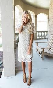 ava cream lace dress from bella ella boutique online