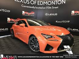 used lexus for sale alberta pre owned 2017 lexus gs f demo unit standard package 4 door car
