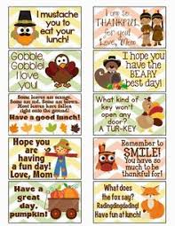 free thanksgiving fall lunch box notes http mysunwillshine