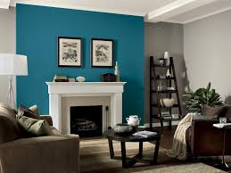 Accent Wall Ideas For Living Room Home Design Ideas - Family room wall color