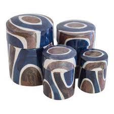 vintage u0026 used blue kitchen accessories chairish