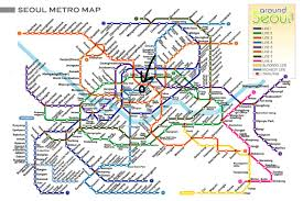 Seoul Subway Map by My Dad And Uncle Visit Korea Part 2