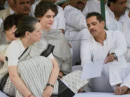 Daughter Nervous Sonia Gandhi U0027s Recent Outburst Suggests She U0027s Nervous Over Vadra