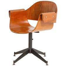 Antique Swivel Office Chair by Carlo Ratti Swivel Chair Swivel Chair Modern And Plywood
