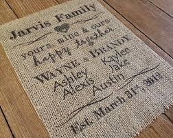 wedding quotes joining families burlap is in the details vintage inspired