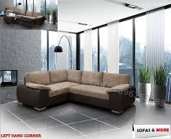 Corner Sofa Ebay Brand New Enzo Corner Sofa Bed With Storage Jumbo Cord