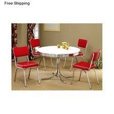 Dining Tables With 4 Chairs Retro Dining Set Ebay
