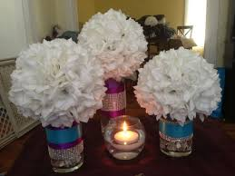 are my centrepieces too big weddingbee
