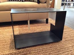 custom made szk metals modern minimalist metal end table coffee
