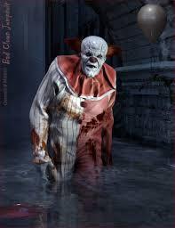 clown jumpsuit bad clown jumpsuit for genesis 8 s 3d models and 3d