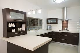 Kitchen Colors With Black Cabinets Black Cabinet Paint Color Trend And White Countertop For Modern
