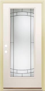32 X 80 Exterior Door Mastercraft Sv 686 Steel Lite Prehung Exterior Door At Menards