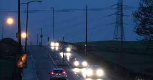 who to call when street lights are out switching off street lights does not hit road safety says study