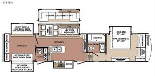 bunkhouse fifth wheel floor plans new 2015 forest river rv blue ridge 3715bh fifth wheel at fun town