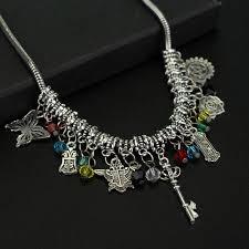 necklace charm diy images 59 diy pentagram necklace aliexpresscom buy wholesale 200pcs jpg