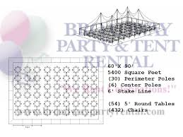 Round Table Seating Capacity Tent Seating Layouts Broadway Party U0026 Tent Rental