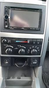 dodge durango stereo din radio won t fit