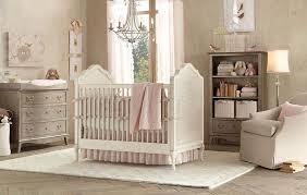 Chandelier Baby Room Beige Color Scheme For Nursery Room Also Rustic Hardwood