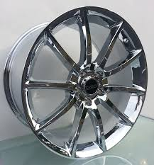 Black Chrome Mustang Rims 2005 2017 Mustang Show All Wheels U0026 Rims Mrbodykit Com The Most