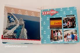nautical photo album nautical chic mini album the polkadot chair