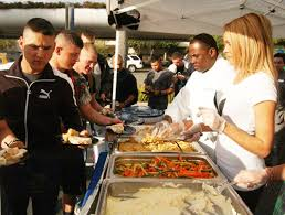 bob uso thanksgiving dinner for troops eastern