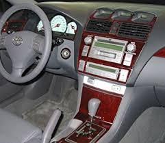 2005 Camry Interior Amazon Com Toyota Solara Interior Burl Wood Dash Trim Kit Set