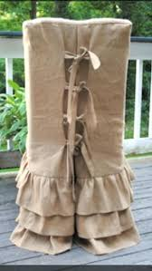 ruffled chair covers burlap chair covers for folding chairs burlap chair cover ruffled