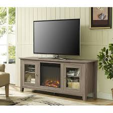 tv unit with glass doors amazon com we furniture 58